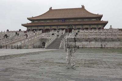 Liu Bolin, Hiding in the City No. 89 - Forbidden City