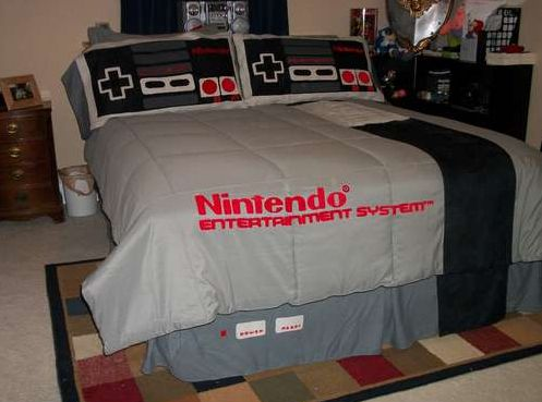nintendo love hotel bed