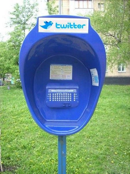 public phone for twitter