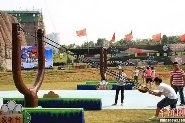 angry birds Chinese Thema Park 3