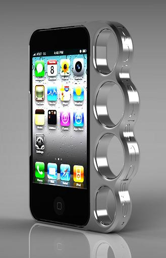 Knuckle Case for iPhone 4 and 4S